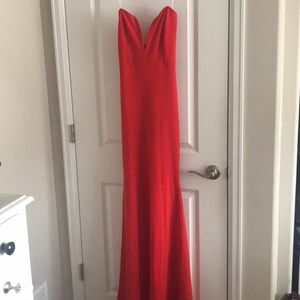 Red formal/prom/homecoming dress